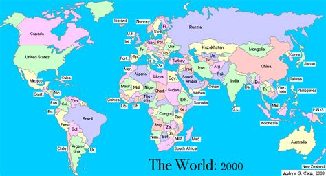 world map with country name hd general awareness world gk