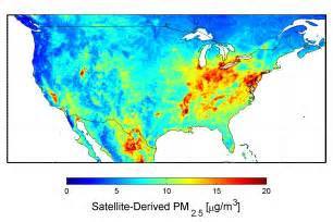 nasa new map offers a global view of health sapping air