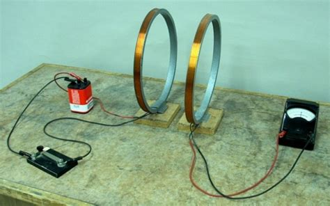 electromagnetic induction setup object moved