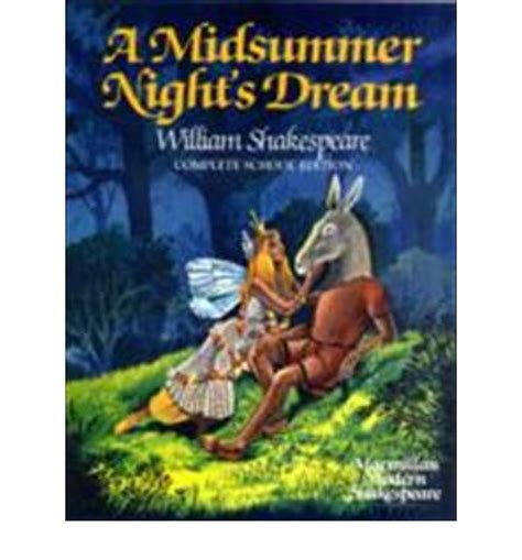 libro midsummer nights dream a a midsummer night s dream william shakespeare 9780333393420