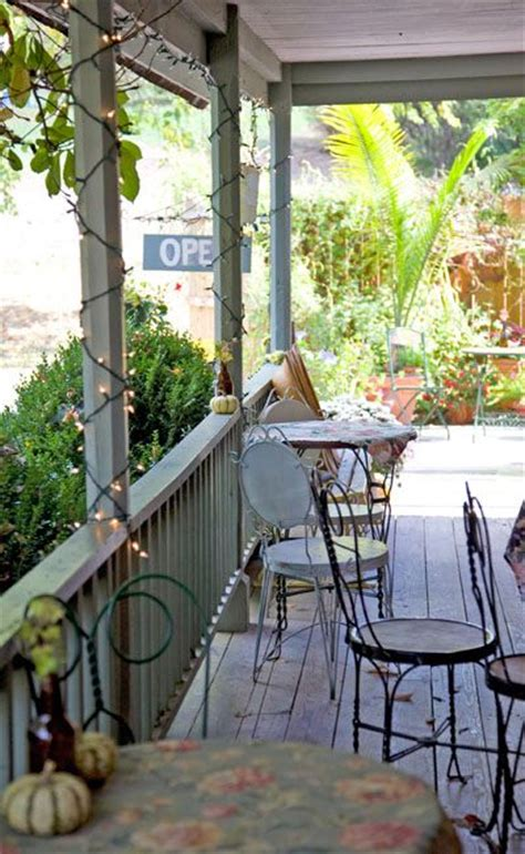 front porch tea room this is a front porch in brown county near bean blossom at a farm house turned cafe and