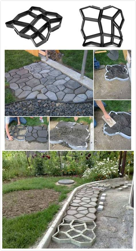 best 25 concrete pavers ideas on diy yard