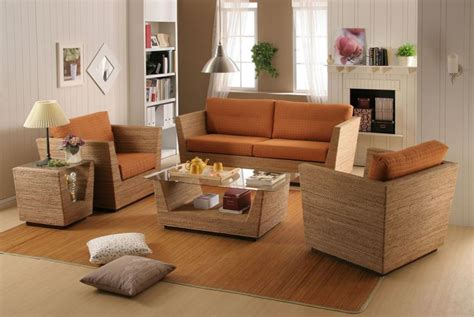 Rattan Living Room Set Featured Appealing Rattan Living Room Design Rattan With Table And Sofa Synthetic Rattan