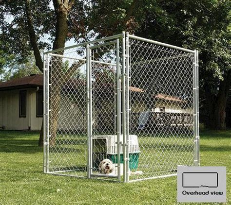 menards kennels 5 x 6 x 10 galvanized kennel at menards 174