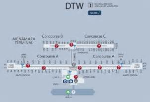 detroit airport map us airways dtw airport delta terminal pictures to pin on