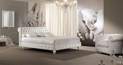 tete de lit romantique 465 chambre 224 coucher avec t 234 te de lit capitonn 233 cuir