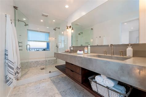 Double Sink Bathroom Vanity Ideas cardiff mid century modern beach house beach style