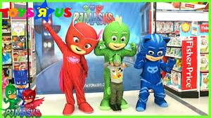 pj masks irl meet greet toys quot quot kids nursery rhymes kids songs