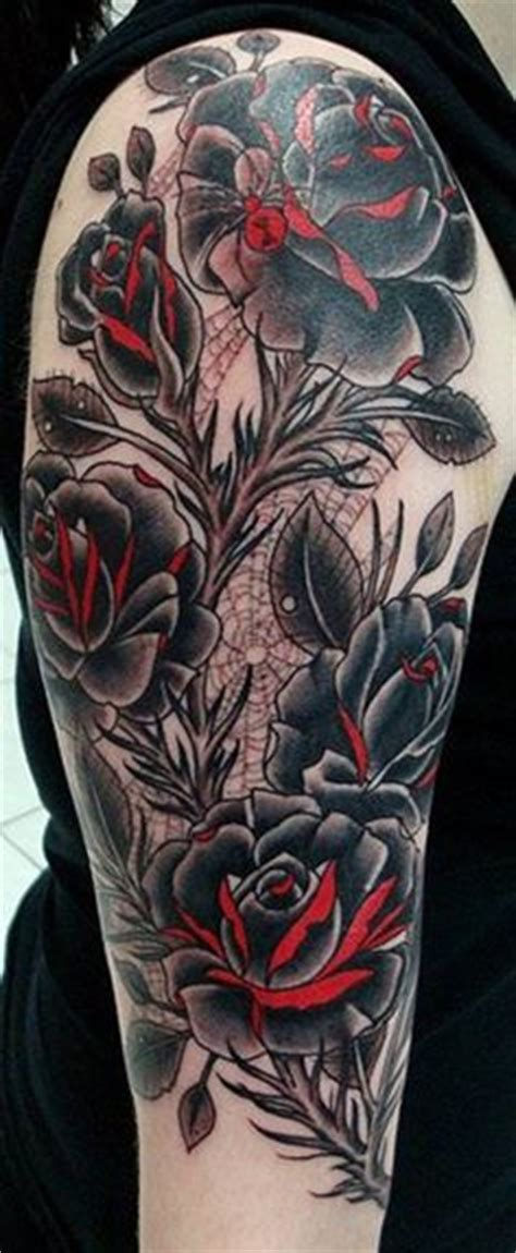 rose with spider web tattoo 1000 images about inspiration on