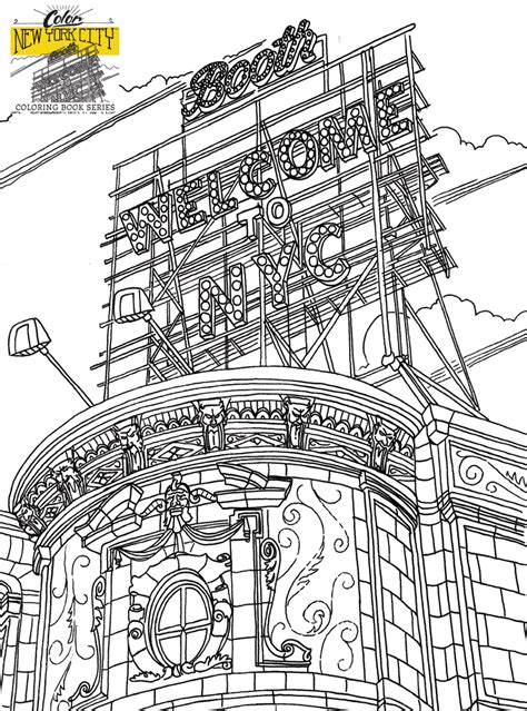 coloring page new york free nyc coloring pages new york city coloring book