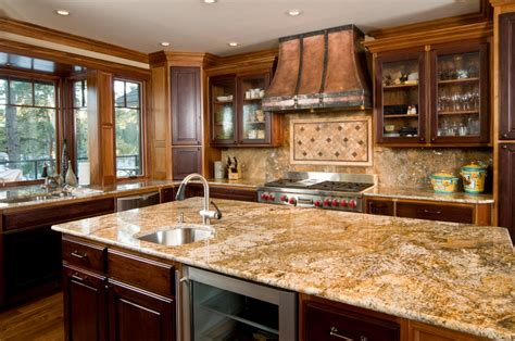 Granite Kitchen Counter by Popular Kitchen Countertops Best Home Decoration World Class