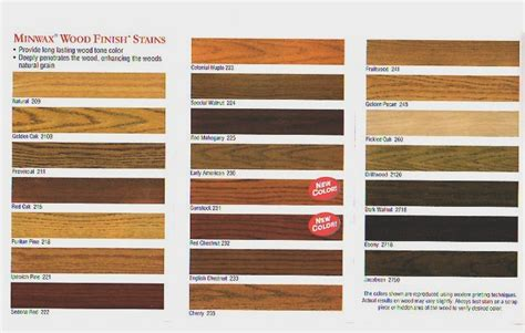 wood furniture colors chart floor stain colours google search living room