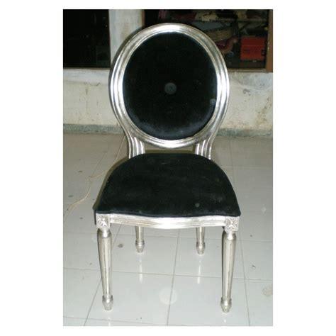 Chaise Argentée chaise style louis xvi pas cher
