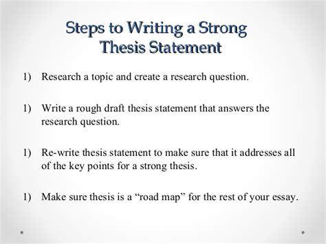 steps in writing a dissertation easy steps to write a thesis statement
