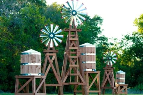 backyard water tower home www lonestarwindmills com