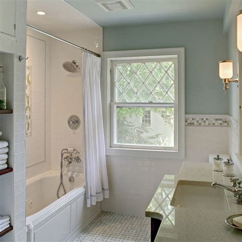 Craftsman Home Interiors Pictures by Vintage Style Bath Remodel Bathroom Design By Tracey