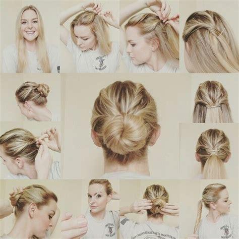 military bun hair style updo military hair ig makingmalissa hair styles