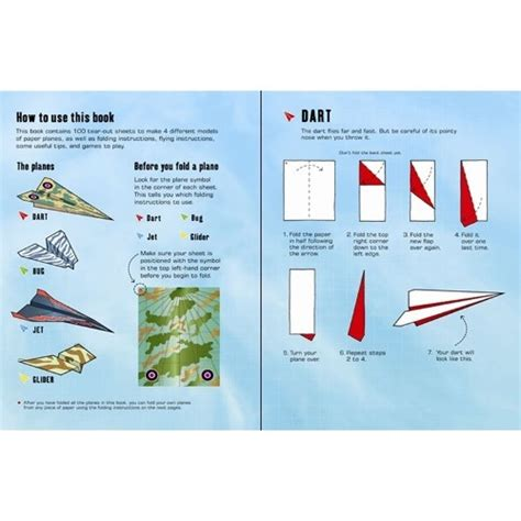 Fold And Fly Paper Planes Book - 100 paper planes to fold and fly usborne from who what why