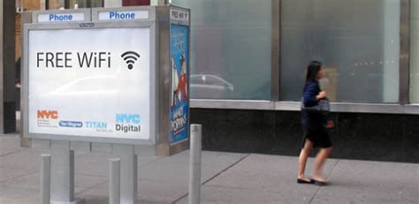 Paying Your Way Into The And The City by Nyc Begins Converting 7 500 Pay Phone Booths Into Wi