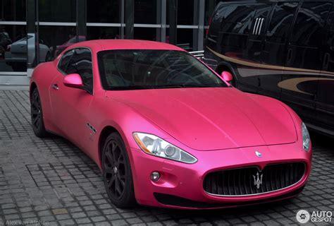 maserati pink maserati granturismo 29 january 2014 autogespot