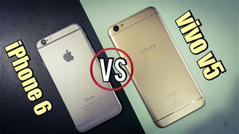 Hp Iphone 6 Di Amerika perbandingan bagus mana hp vivo v5 vs apple iphone 6 segi