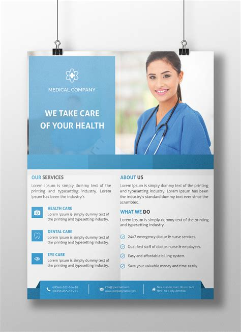 17 Medical Flyer Templates Psd Ai Eps Free Premium Templates Health Care Flyer Template Free