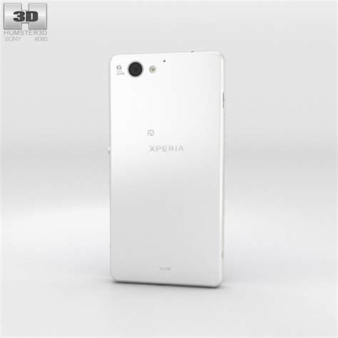 Sony Xperia A2 With sony xperia a2 so 04f white 3d model hum3d