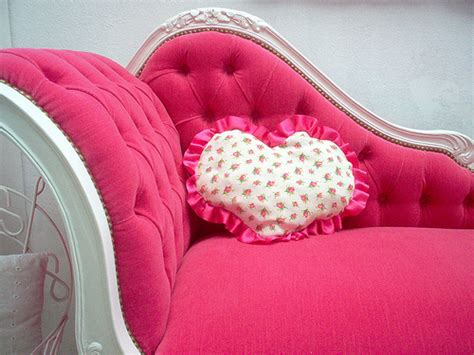 girly couches couch decor girly heart image 674451 on favim com