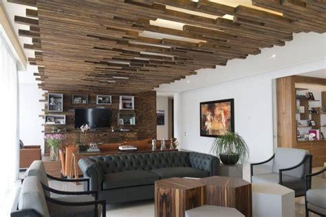 plafond original plafond bois 224 led et meubles massifs l appartement design