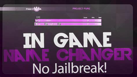 i mod game no jailbreak mw2 1 14 in game name changer no jailbreak youtube