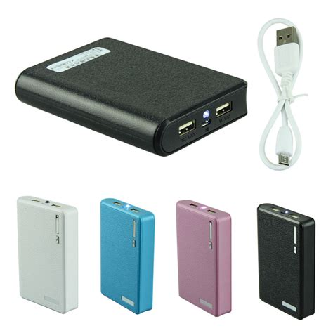 external cellphone battery charger portable 12000mah usb charger power bank external battery