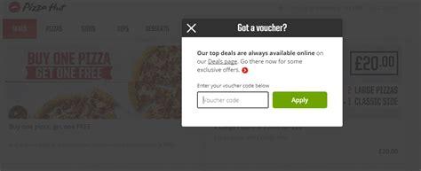 pizza hut printable vouchers uk pizza hut voucher ᐅ 50 discount april 2018