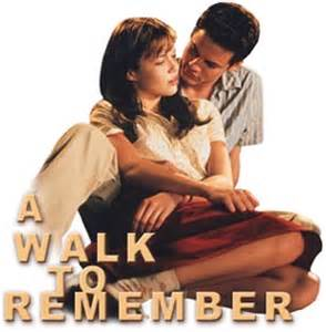 Walk to remember a synopsis heading