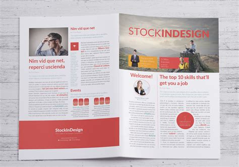 free business newsletter stockindesign