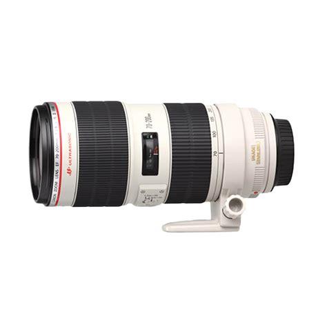 jual canon ef 70 200mm f 2 8l is ii usm lensa kamera