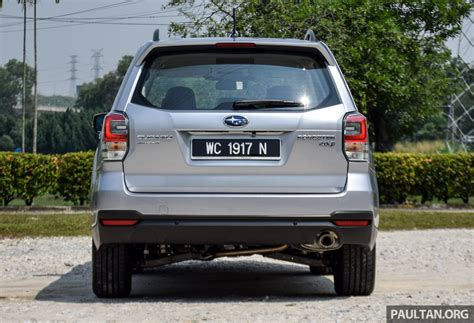 subaru malaysia 2016 2016 subaru forester facelift launched in malaysia from