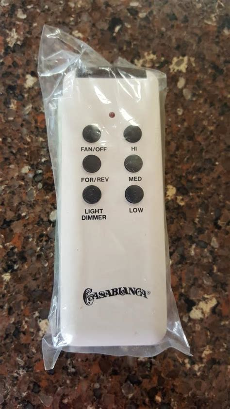 casablanca fan remote w 21 replacement w 42 fix my casablanca fan