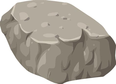 clipart rock rocks mountain nature 183 free vector graphic on pixabay