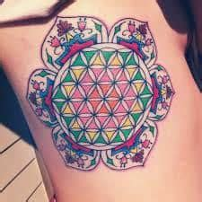 geometric tattoo kansas city sacred geometry tattoos 37