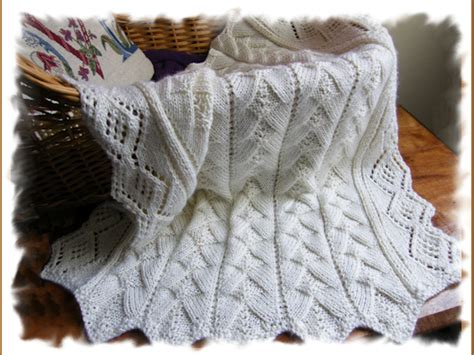 heirloom knit baby blanket cranberry knits publishes heirloom treasure baby