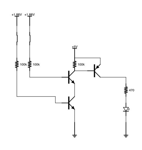 npn transistor or gate xor gate last of