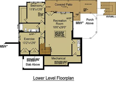 rustic mountain house floor plan with walkout basement rustic mountain house plan rustic mountain design by max
