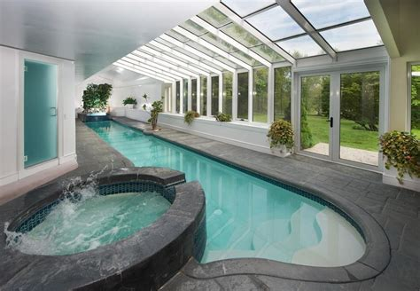 indoor pools in homes five homes for sale with indoor pools boston magazine
