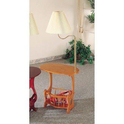 End Table With Attached L And Magazine Rack by Total Fab End Table With Attached L And Magazine Rack