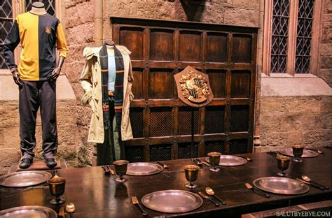 harry potter table l harry potter studio tour 224 londres plus qu un mus 233 e une
