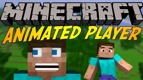 minecraft better player animations mod animated player mod 1 13 1 12 2 1 12 1 11 2 1 10 2