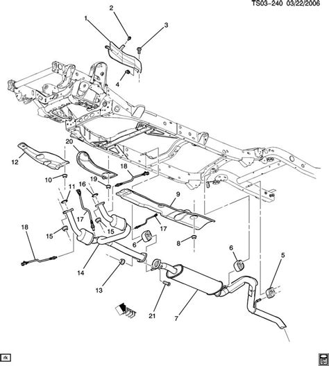 gmc parts diagram 2003 gmc envoy tailgate parts autos post