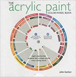 the acrylic paint colorwheel book eight step by step