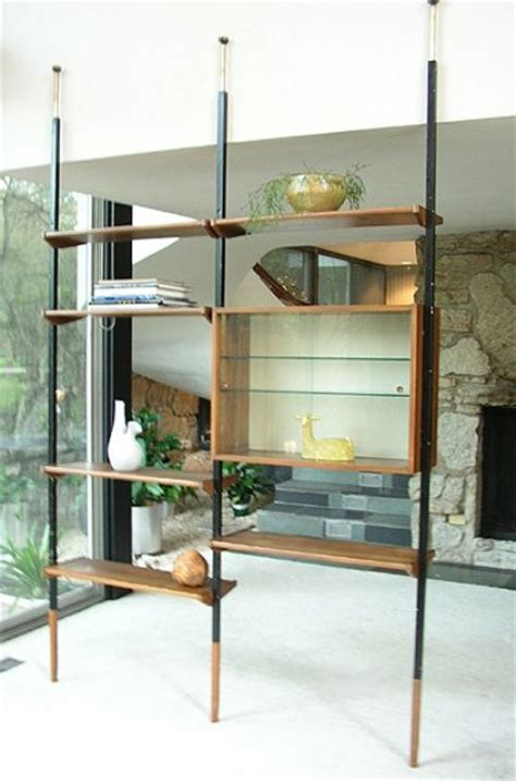 Mid Century Divider Bookcase I Grew Up With This They Room Dividers Shelves
