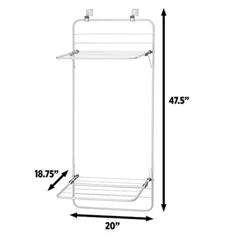 The Door Clothes Rack by Mdesign The Door Clothes Drying Rack Wall Mounted
